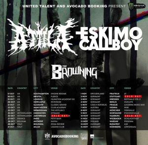 ATTILA + Eskimo Callboy: 2 date Italiane a fine mese!