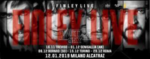 Finley & Vanilla Sky in concerto al Largo Venue di Roma!