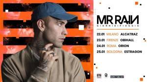 Mr Rain: 4 date in Italia a gennaio 2019