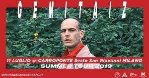 Gemitaiz con il suo Summer Tour al Carroponte di Milano