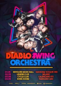 I Diablo Swing Orchestra per la prima volta in Italia con 4 date!