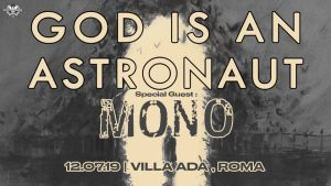 God Is An Astronaut e Mono insieme in un'unica data a Villa Ada