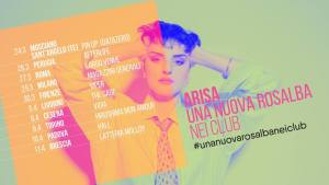 """ARISA: il tour """"Una nuova Rosalba nei club"""""""