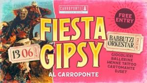 Fiesta GIPSY al Carroponte con Babbutzi Orkestar