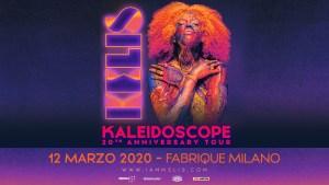 Kaleidoscope 20th Anniversary Tour, Kelis in Italia per la prima volta!