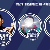 Giorgio Poi • Ciulla • Azzurro Dj Set • Viper Firenze • 16 Novembre