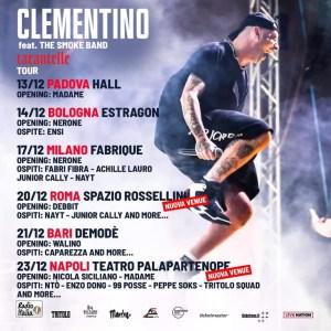 Clementino torna in tour dopo 5 anni