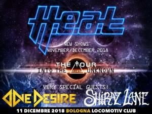 H.E.A.T.: la band svedese torna in Italia per una data a Bologna