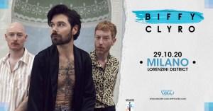 BIFFY CLYRO: annunciata una data in Italia ad ottobre