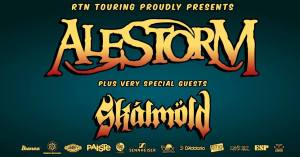 Alestorm / Skálmöld live in Italia per 4 date