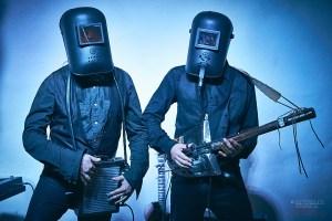 The Cyborgs @ Embargo Beat, Sassari (foto di Antonello Franzil)