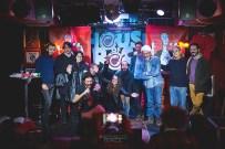 I concorrenti della serata Poetry Slam Sardegna