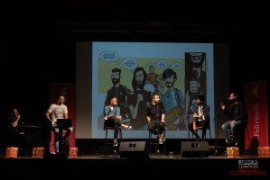 "Fast Animals And Slow Kids: ""Come Reagire al Presente"", Graphic Novel @Santeria di Milano (foto di Niska Tognon)"