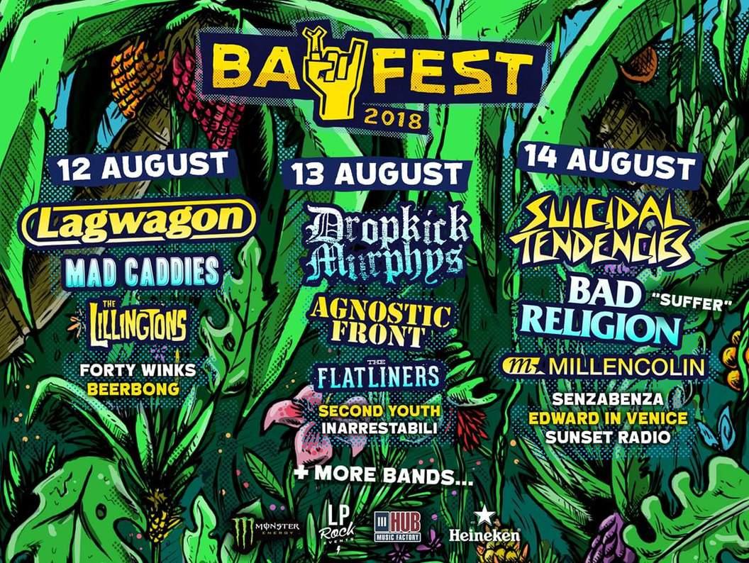 Bay Fest 2018, fuori ora la line up completa!