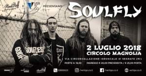 Soulfly al Circolo Magnolia di Milano