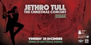 Ian Anderson presenta: Christmas with Jethro Tull - Chiesa di San Vitale, Parma il 20 Dicembre