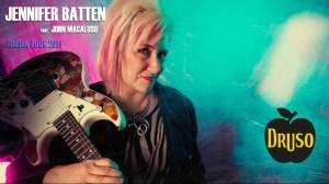 Jennifer Batten feat. John Macaluso al Druso il prossimo 15 aprile!