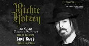 Richie Kotzen: unica data italiana il 16 Settembre @Live Music Club - Trezzo sull'Adda (MI)