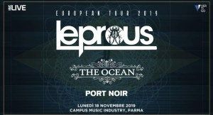 Leprous - Live @Campus Industry Music (Parma) il 18 Novembre!