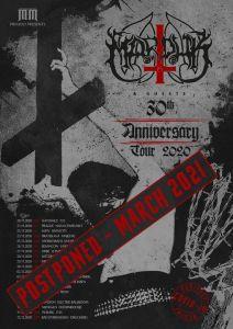 Marduk: tour posticipato al 2021