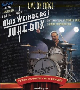 Max Weinberg in Italia a luglio per tre date!