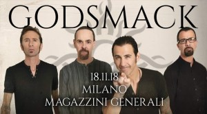 Godsmack Live il 18 Novembre ai Magazzini Generali - Milano