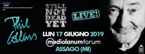 Phil Collins torna in Italia: 17 Giugno 2019 @Mediolanum Forum - Milano