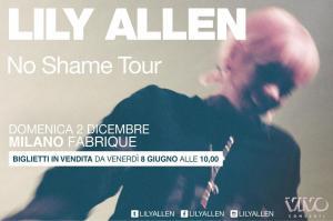Lily Allen al Fabrique di Milano il 2 Dicembre!