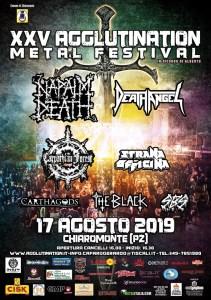 XXV AGGLUTINATION METAL: Festival tutto dedicato al Metal a Potenza