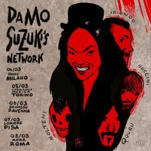 Damo Suzuki's Network, annunciate cinque date in Italia