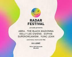 Radar Festival è il nuovo festival estivo a Milano: appuntamento 8 e 9 giugno
