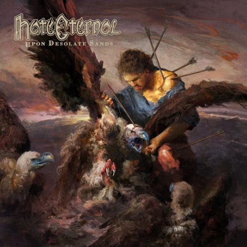 Hate Eternal - Upon Desolate Sands (Season of Mist, 2018) di Alessandro Magister