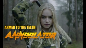 """Nuovo video degli Annihilator """"ARMED TO THE TEETH"""""""