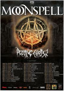 Moonspell e Rotting Christ in Tour - due le date Italiane