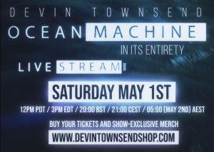 DEVIN TOWNSEND: annuncia un nuovo evento in live streaming