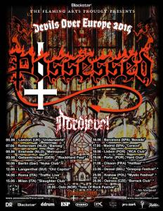 Possessed, due date in Italia