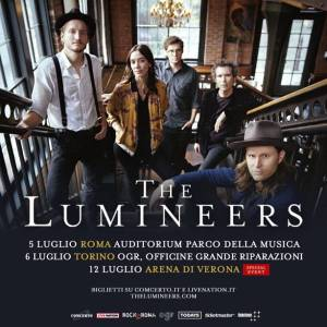 THE LUMINEERS: due date estive in arrivo!