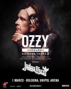 Ozzy Osburne torna in Italia nel 2019