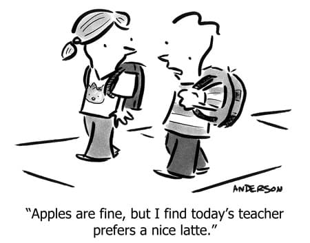 Relief Teaching Cartoon