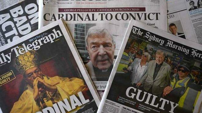 La prensa, clave en el caso Pell