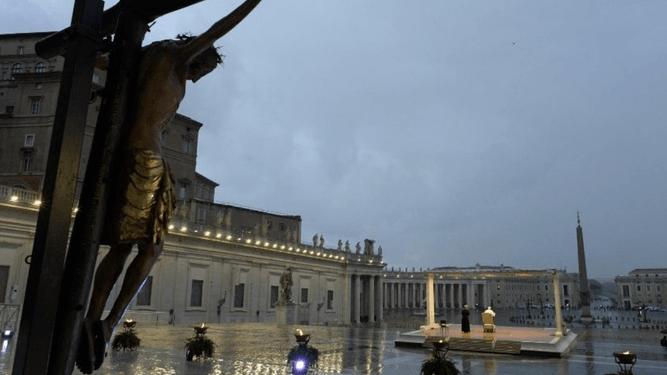 La oración del Papa