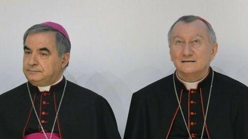 Becciu y Parolin