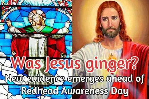 Did Jesus have red hair?
