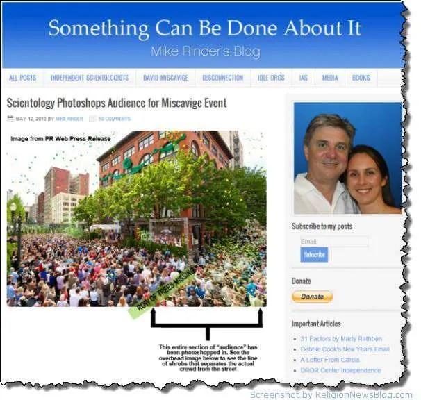 Scientology photoshops Portland event