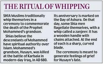 Shia Ashura ceremony
