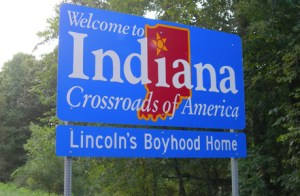 Indiana sign cc