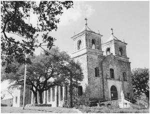 Archbishop Flores' Church in Boerne, Texas