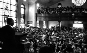 Martin Luther King, Jr. at Dexter Avenue Baptist Church