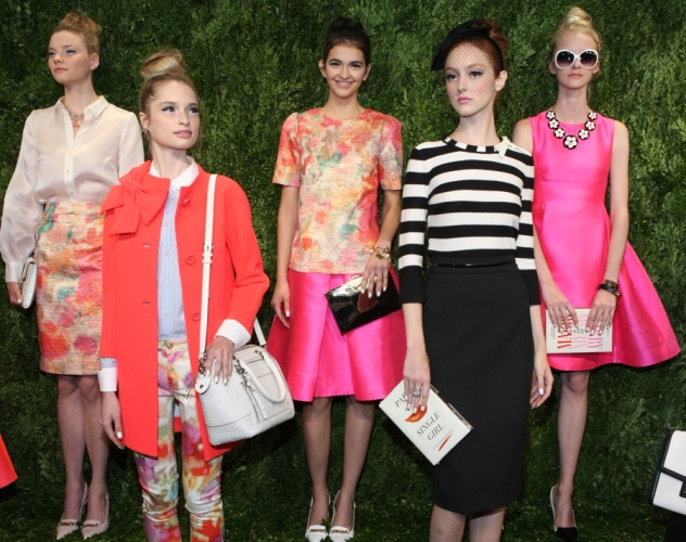 I love the colors Kate Spade used in her Spring 2014 collection. This line has so much character.