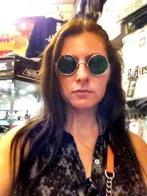I loved these John Lennon glasses I found inside a Beatles store by Regents Park.